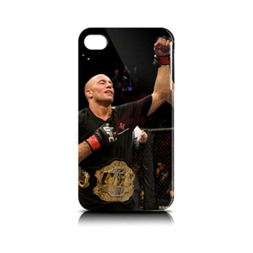 Official Licensed UFC Hard Case for Iphone 4/4s – George St. Pierre