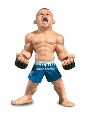 Round 5 UFC Ultimate Collector Series 1 Action Figure Chuck Iceman Liddell