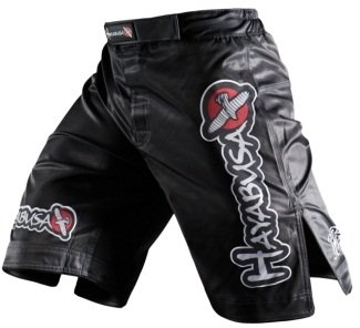Hayabusa Official MMA Shiai Fight Shorts – Color: Black, Size: 34