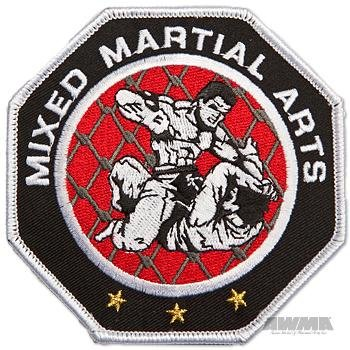 AWMA Octagon Mixed Martial Arts MMA Patch