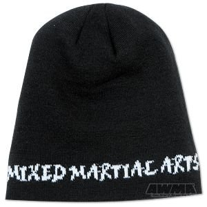 ProForce Beanie – Mixed Martial Arts Script Black