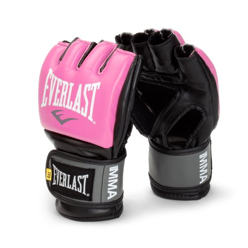 Everlast Pink Women's Pro Style Grappling Training Glove (Small/Medium)
