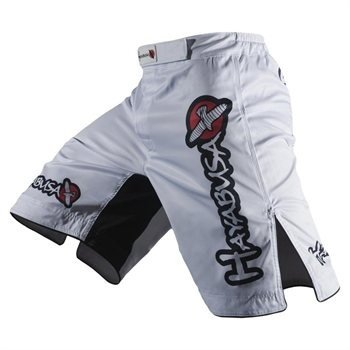 Hayabusa Official MMA Shiai Fight Shorts – Color: White, Size: 36