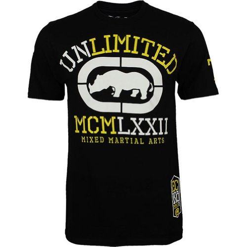 Ecko Unltd. Clinch Mens MMA T-Shirt (Real Black) – XL