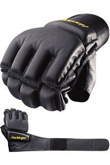 Harbinger Bag Glove WristWrap (Black, Large)