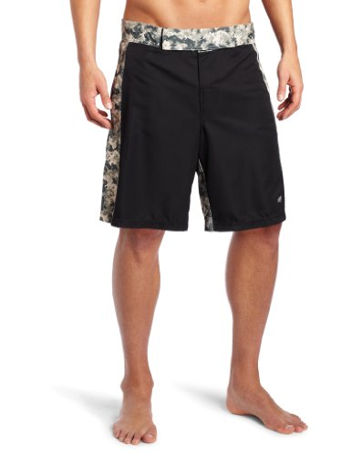 MJ Soffe XT-46 Men's MMA Digital Insert Short, Black/Digital Army, X-Large