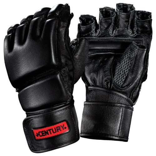 Century® Men's Leather Wrap Gloves With Clinch Strap? M/L
