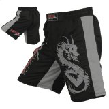 Mrx MMA Fight Shorts Stretch Penals Black/Grey (Black/Grey, Small (28.5″- 29.5″)) Reviews