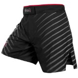 Hayabusa Kasumi-S Fight Shorts, 34, Black