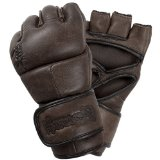 Hayabusa Kanpeki Elite 2.0 MMA Gloves, 4-Ounce/Large, Brown