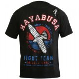 Hayabusa Official MMA International Fight Team T-Shirts - Black (XXL)