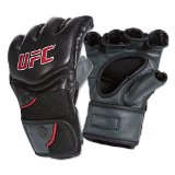 UFC Competition Grade MMA Gloves, Black/Gray, Large/X-Large