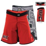 UFC Classic Fight Shorts, Red, 32