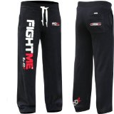 Authentic RDX Fight ME Fleece Pants Trousers UFC MMA Gym Bottoms Jogging Joggers Shorts K1 Mens