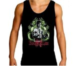 Twin Dragon Mens UFC MMA Bruce Lee Mens Tank Top Shirt Black, Medium