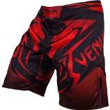 Venum Shadow Hunter Fight Shorts, Black, Small