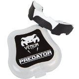 Venum Predator Mouth Guard, Black/White