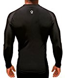 OPTIMAL HUMAN - Men's Compression Long Sleeve Base Layer Athletic Shirt (XL)