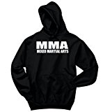 Comical Shirt Men's MMA Mixed Martial Arts Trainer Fighter Workout Black M