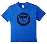 Kids College Of Fighting Mixed Martial Arts T-Shirt 6 Royal Blue