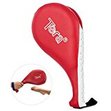 Tera PU Leather Kicking Punching Kickboxing TKD Target Training Pad with Double Buffer Side for Karate Tae Kwon Do