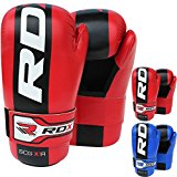RDX Maya Hide Leather Taekwondo Gloves WTF Training Martial Arts Sparring TKD Punch Bag Mitts MMA Karate Fighting