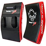 TurnerMAX kick Shield Boxing Strike Curved Arm Pad Punch Bag
