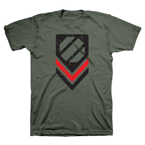 UFC Men's Corps T-Shirt (Military, Small)
