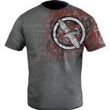Hayabusa Official MMA Dive T-Shirt/Tee - Heather Grey / X-Large