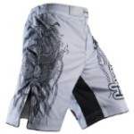 Hayabusa Mizuchi Fight Shorts, 36, White