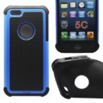 Cocoz® New Releases Blue /Black Hard Soft High Impact Armor Case Combo Cover for Apple Iphone 5c At & T Verizon Sprint Dust Stylus (Orange/black Pc + Silicone)-r001 Reviews