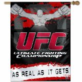 UFC Mixed Martial Arts  27-by-37 inch Vertical Flag