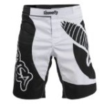 Hayabusa Chikara Fight Shorts, Black/White, 34-Inch/Large