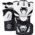 "Venum ""Attack"" MMA Gloves, Black/White, Large/X-Large"