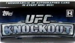 Topps UFC Ultimate Fighting Championship 2013 Knockout Trading Card Pack [5 Cards]