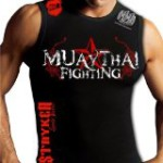 Muay Thai Muscle Stryker Sleeveless Tank Top T-shirt Top Tapout UFC MMA Brazilian Jiu Jitsu Size Medium