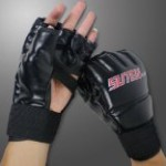 ABC Cool MMA Muay Thai Training Punching Bag Half Mitts Sparring Boxing Gloves Gym