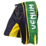 "Venum ""All Sports"" Brazil Edition Fightshorts, Black, Medium"