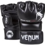 "Venum ""Impact"" MMA Gloves, Black, Medium"