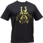 """Samurai Mask"" t-shirt – Black – X-Large"