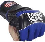 Ringside Combat Sports Pro Style MMA Gloves, Blue, Small