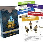 CAGE Cardio Bodyweight Fight Deck: Workout Cards for MMA Training and Martial Arts – Short and Effective MMA Workouts