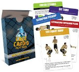 CAGE Cardio Bodyweight Fight Deck: Workout Cards for MMA Training and Martial Arts - Short and Effective MMA Workouts