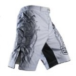 Hayabusa Mizuchi Fight Shorts, 38, White