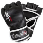 Hayabusa Ikusa MMA Gloves, 4-Ounce/Large, Black