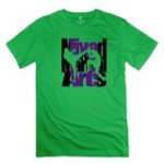 Canadian Mixed Martial Arts Forest Green T-shirt For Men XS