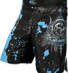 Pro MMA Shorts Fight UFC Grappling Short Kick Gel Boxing Muay Thai Cage Pants (X-Large)