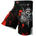 Pro Gel Fight Shorts UFC MMA Grappling Short Kick Boxing Muay Thai Cage Pants (Large)