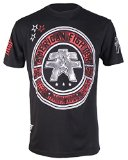 American Fighter by Affliction Men's MMA Graphic T-Shirt (S, Black Cumberland)