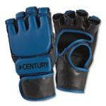 Youth MMA Training Glove Youth sizes Blue Small-medium